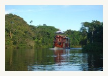 cattleya amazon ship on river