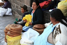 vendors in cuzco